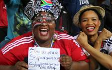 FILE: Orlando Pirates fans ecstatic as their teams after a win against Al Ahly in the CAF Cup. Picture: Leeto M Khoza.