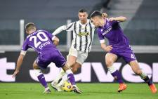 Juventus lost 3-0 to Fiorentina on 22 December 2020. Picture: @juventusfcen/Twitter.