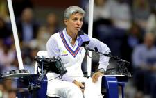FILE: Chair umpire Marija Cicak looks on during the Women's Singles semi-final match between Serena Williams of the United States and Elina Svitolina of the Ukraine on day eleven of the 2019 US Open. Picture:  Elsa/Getty Images/AFP