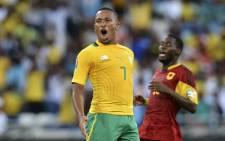 Bafana Bafana striker Lehlohonolo Majoro. Picture: EWN
