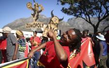 FILE: Hundreds of people gathered on the streets of Cape Town in a march to put pressure on MPs to oust President Jacob Zuma. Picture: Bertram Malgas/EWN.