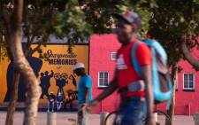 Young man walks past mural in Sharpeville on the eve of a sombre Human Rights Day in 2020. Commemorations of this holiday were cancelled due to the Coronavirus outbreak. Picture: Sethembiso Zulu/EWN