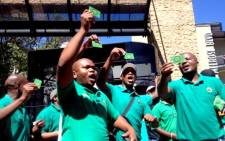 FILE: Amcu's crippling strike in the platinum sector is in its fourth month. Picture: Govan Whittles/EWN.