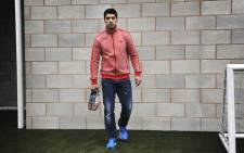 Adidas has confirmed that Luis Suarez will be retained as one of their sponsored athletes, despite his four month football ban. Picture: Facebook.com