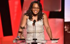 Actress Mya Taylor speaks onstage during the 2016 Film Independent Spirit Awards on February 27, 2016 in Santa Monica, California. Picture: AFP.