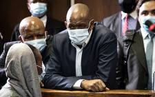 ANC secretary-general Ace Magashule appears in the Bloemfontein Magistrates Court for his fraud, corruption and money laundering case on 19 February 2021. Picture: Xanderleigh Dookey-Makhaza/Eyewitness News.