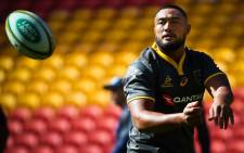 Wallabies loosehead prop Scott Sio. Picture: AFP