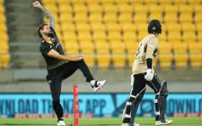 Australia took on New Zealand in the fourth T20 international in Wellington on 5 March 2021. Picture: @ICC/Twitter.