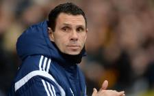 Sunderland's Uruguayan manager Gus Poyet looks on ahead of the FA Cup fifth round football match between Bradford City and Sunderland at The Coral Windows Stadium in Bradford, northern England on 15 February, 2015. Picture: AFP