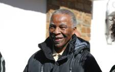 Former President Thabo Mbeki met with ANC mayoral candidates at his home on 2 August 2016 ahead of Local Government Elections. Picture: Christa Eybers/EWN.