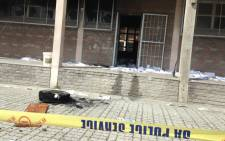 Classrooms were damaged during a protest by Joe Slovo High School learners in Khayelitsha. Picture: Lauren Isaacs/EWN.