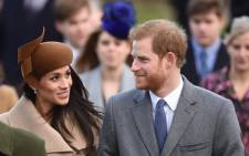 FILE: Prince Harry and Meghan Markle joined members of the Royal Family for the Morning Service on Christmas Day in Sandringham. Picture: @KensingtonRoyal/Twitter.