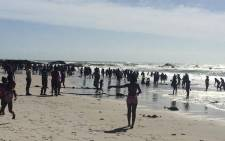 FILE: Earlier emergency services managed to revive a man who'd lost consciousness following a near-drowning incident in Kalk Bay. Picture: Masa Kekana/EWN.