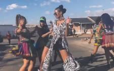 A screengrab of Ciara's 'Freak Me' video. Picture: YouTube