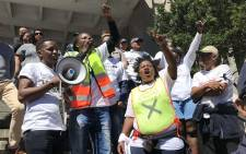 Hundreds of activists from across Cape Town marched in the CBD for land. Residents from some of the poorest areas in the city used the movement to voice their frustrations. Picture: Bertram Malgas/EWN