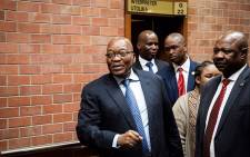 Former President Jacob Zuma at the Pietermaritzburg High Court on 21 May 2019. Picture: Sethembiso Zulu/EWN