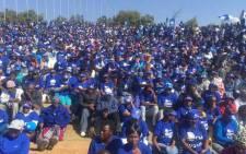 A DA rally at Freedom Park in Pretoria on 9 August. Picture: EWN.