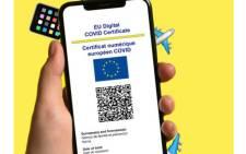 An EU-wide COVID certificate. Picture: @DigitalEU/Twitter.