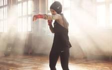 Berlin boxer Zeina Nassar. Picture: @ZeinaNassar11/Twitter.