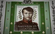 This picture taken on March 31, 2021 shows the commemorative stamp of French Emperor Napoleon I at the French national printing house of postage stamps in Boulazac, southwestern France. The 200th anniversary of Napoleon Bonaparte's death will be marked on May 5, 2021. Picture: Philippe Lopez / AFP.