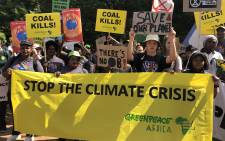 As the world rebuilds in the aftermath of the coronavirus pandemic we have an opportunity to place the global economy on a low-carbon, climate resilient path. Picture: Greenpeace SA