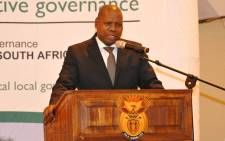 Co-operative Governance Minister Zweli Mkhize. Picture: @NationalCoGTA/Twitter