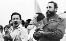 FILE: Fidel Castro (R) and his brother Raul Castro (L) in 1978 in Havana. Picture: AFP.