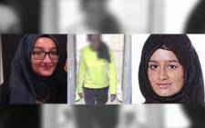 Three missing British teens are believed to have joined terrorist group Islamic State. Picture: Supplied/EWN.