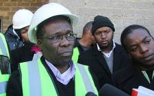 Humphrey Mmemezi, Gauteng MEC for Local Government and Housing. Picture: Taurai Maduna/EWN