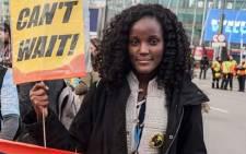Ugandan climate change activist Vanessa Nakate. Picture: Facebook