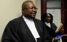 Richard Mdluli's lawyer Graham Moshoana. Picture: Sapa