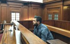 Reghard Groenewald was sentenced to 10 years in prison for the murder of a Durbanville mother. Picture: Lauren Isaacs/EWN.