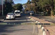 Hout Bay Main Road following a shooting at a taxi rank on 1 April 2019. Picture: Shamiela Fisher/EWN