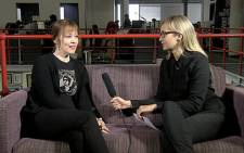 American folk singer Suzanne Vega chats to Eyewitness News. Picture: Renee de Villiers/EWN.