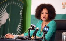 Minister of International Relations and Cooperation Lindiwe Sisulu. Picture: Dirco.