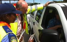 FILE: Officials tested more than 860 drivers overnight at so-called alcohol-blitz roadblocks. Picture: EWN.