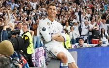 FILE: Real Madrid's Cristiano Ronaldo celebrates a goal. Picture: Facebook