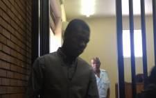 Murder accused Tsundzukani Mthombeni in the Boksburg Magistrate's Court. Picture: Jacob Moshokoa/EWN