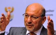 Minister in the Presidency Trevor Manuel is seen during a post Cabinet media briefing in Cape Town, Tuesday, 22 February 2011. Picture: GCIS/SAPA