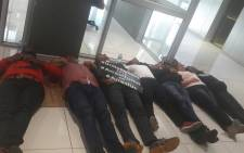 Members of the #UniteBehind movement holding a sit-in at the Western Cape headquarters of the NPA. Picture: @UniteBehind/Twitter.