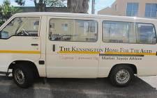 A vehicle for the Kensington Home for the Aged. Picture: Janine Willemans/EWN