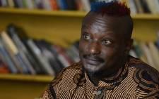 Kenyan author Binyavanga Wainaina. Picture: Twitter