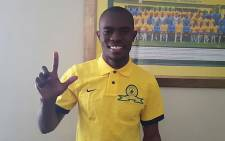 Newly signed Mamelodi Sundowns central midfielder Asavela Mbekile. Picture: Facebook.