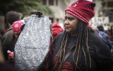Scores of women took to the streets of several of South Africa's cities to march against gender-based violence. Picture: Cindy Archillies/EWN