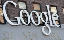 Google logo. Picture: EPA.