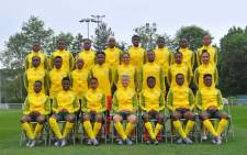 The South African team which will make their Women's World Cup debut on 8 June 2019 in a match against Spain. Picture: Twitter: @Banyana_Banyana