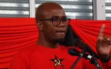 Western Cape SACP secretary Benson Ngqentsu. Picture: @SACP1921/Twitter.