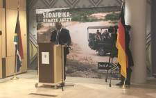 South Africa's ambassador to Germany, Stone Sizani. Picture: Masego Rahlaga/EWN