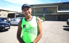 Christel House principal Ronald Fortune has committed to running the 2018 Two Oceans Ultra Marathon… that's 56 kms… to raise funds for a new school bus. Picture: Bertram Malgas/EWN