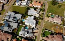 FILE: An overhead view of Silver Woods Estate in Pretoria. Picture: Carte Blanche.